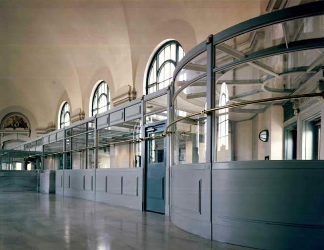 Image of booths in Union Station