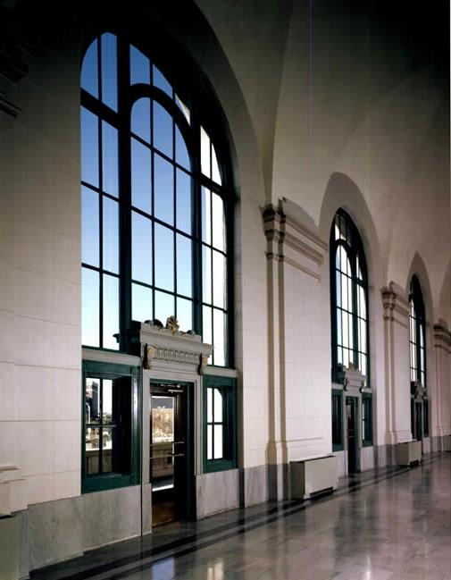 Image of windows of Union Station
