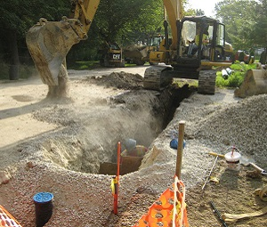 Water main rehab