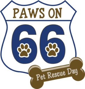 Paws On 66 logo