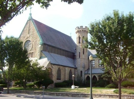 Image of front of Christ Episcopal Church